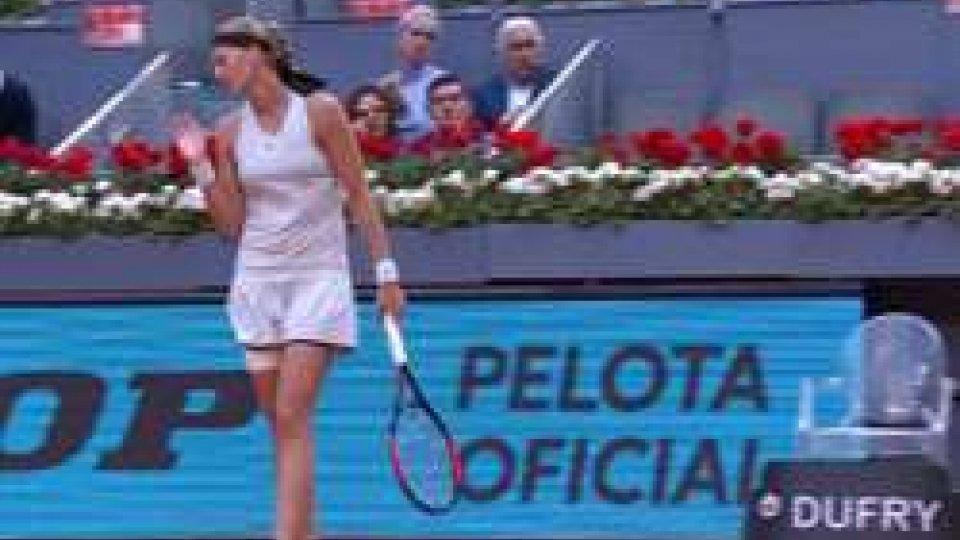 La Kvitova vince il Wta di Madrid