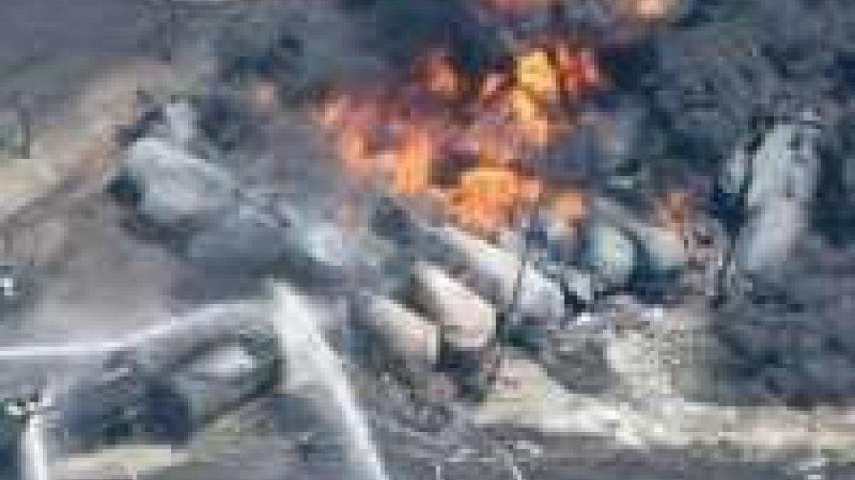 Canada: domate le fiamme del treno cisterna
