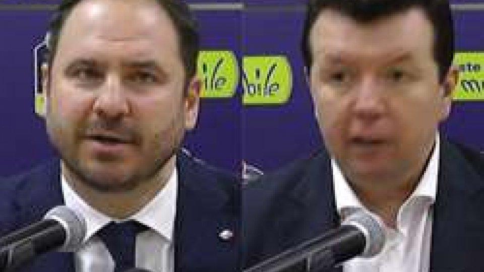 """Andrea Bianchi e Spiro LekaVL Pesaro, Spiro Leka: """"Ci siamo fatti sorprendere, siamo stati ingenui"""""""