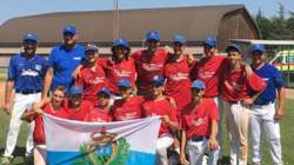 San MarinoBaseball: San Marino vince il torneo internazionale 2 torri