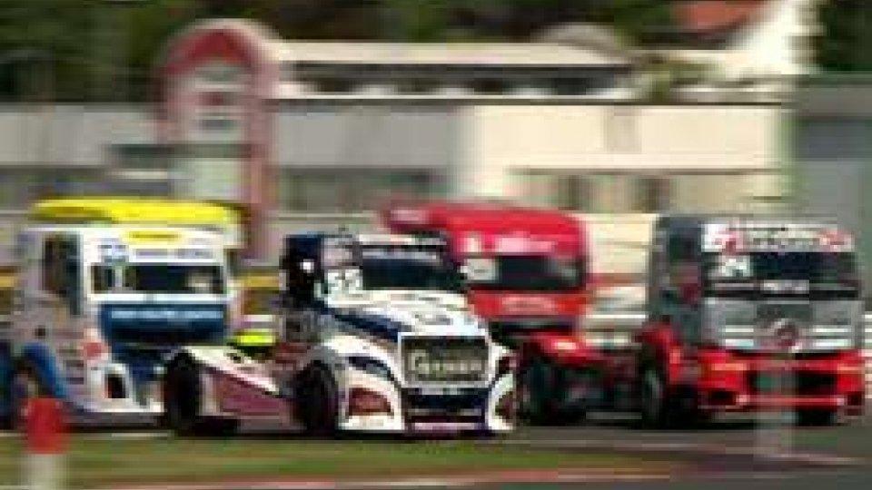 A Misano il Grand Prix Truck. Spettacolo in pista e nei Paddock