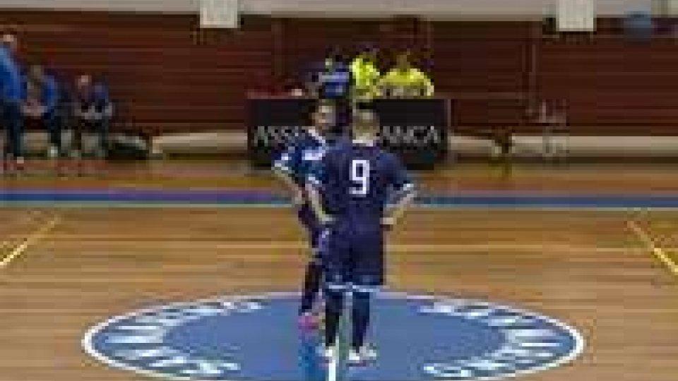 Futsal: Nazionale Sammarinese - Montesilvano 0-4Futsal: Nazionale Sammarinese - Montesilvano 0-4