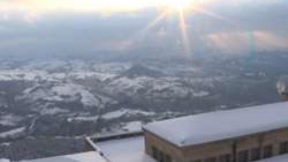 Veduta da Piazza della LibertàPrimavera da neve