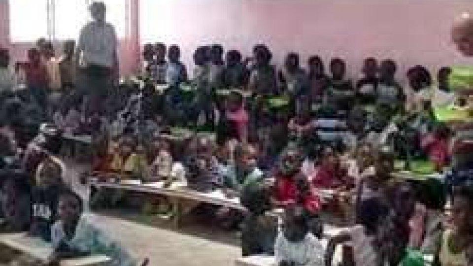 i volontari in Zambia