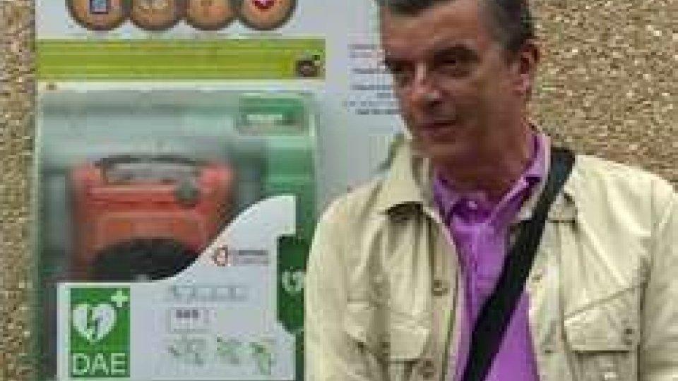 Nuovo defibrillatore alla palestra Don Guidi di Fiorentino