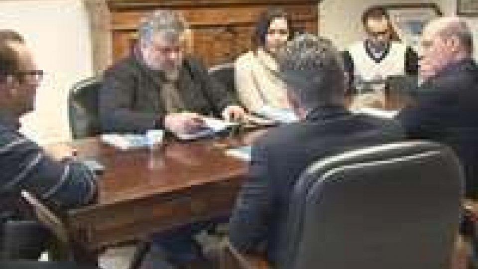 Maltempo: ricognizione del presidente Bonaccini in RomagnaMantempo: presidente Bonaccini con i sindaci per la stima danni