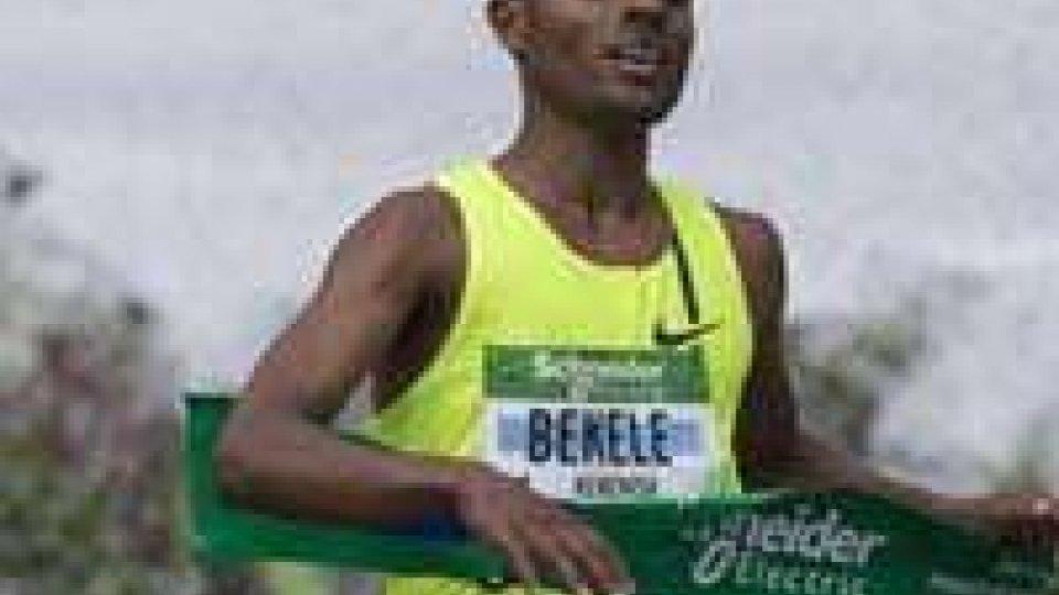 Tre sammarinesi alla maratona di Parigi vinta da Bekele