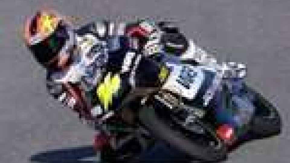 Simone Corsi in pole in 125