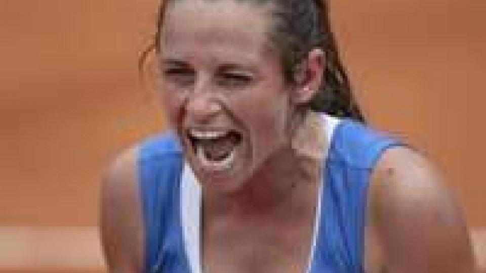 Tennis: Roberta Vinci porta l'Italia in finale di Fed Cup