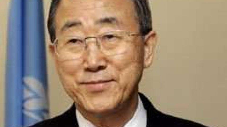 Meeting, il messaggio del segretario ONU Ban Ki Moon