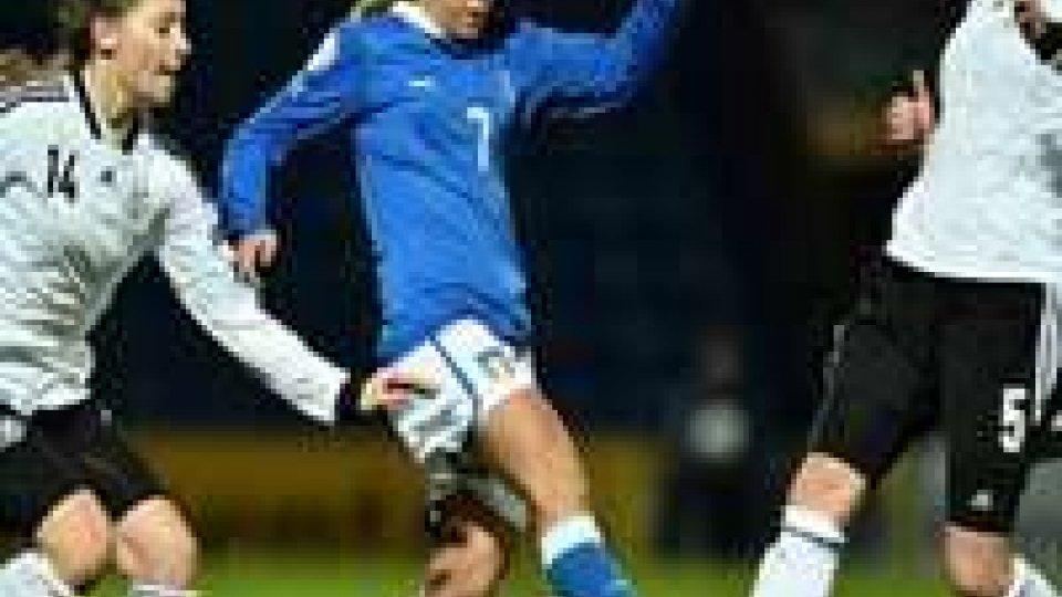 Calcio Femminile: Italia-Inghilterra 4-3