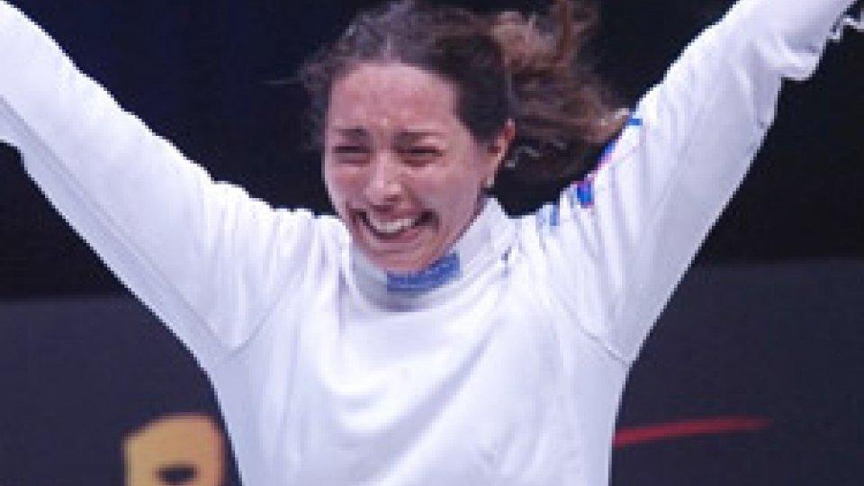 Mara NavarriaScherma: Navarria e Volpi d'oro ai Mondiali, Errigo bronzo