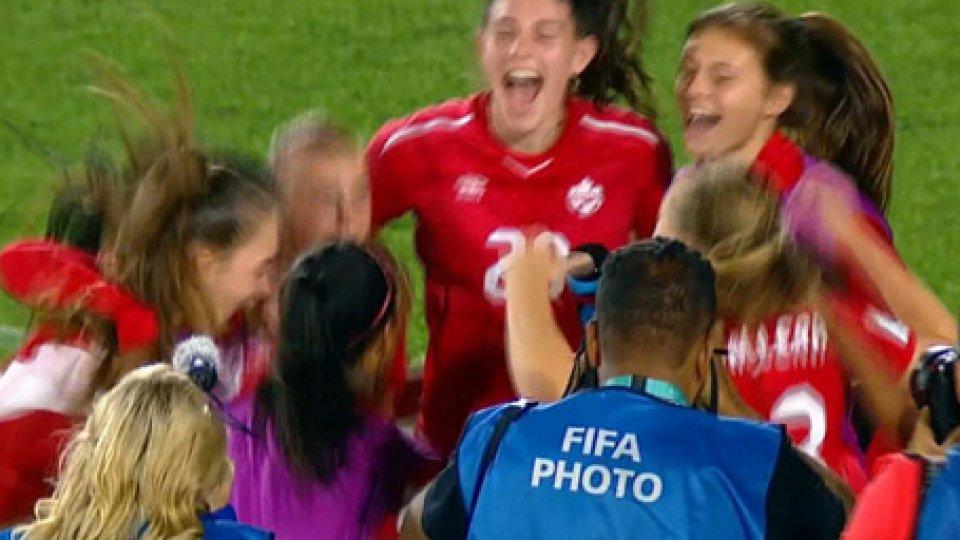 Sarà Messico–Canada la seconda semifinale del mondiali under 17Femminile: Sarà Messico–Canada la seconda semifinale del mondiali under 17
