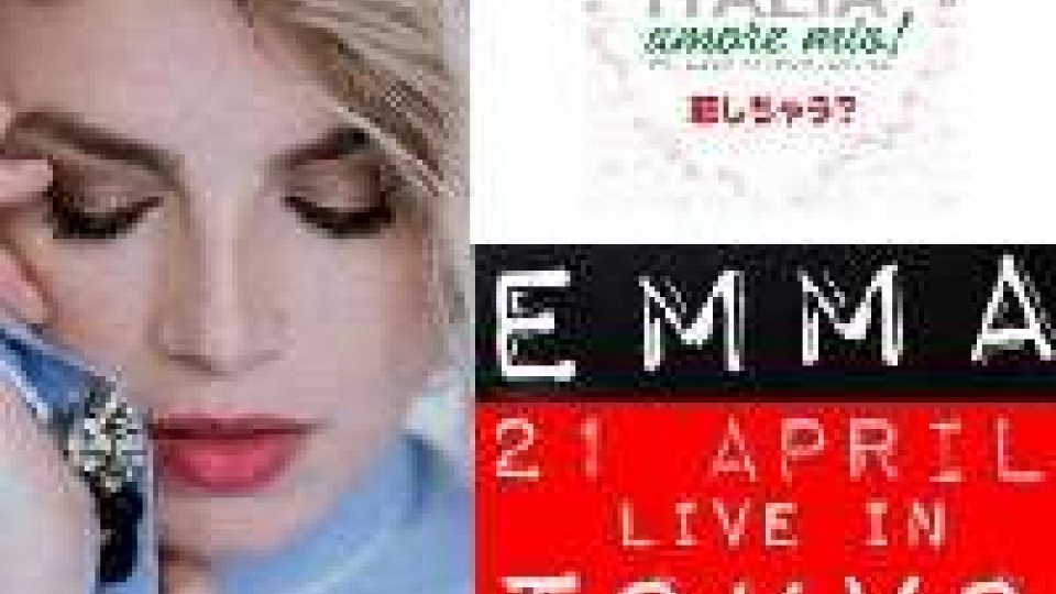 """Emma a Tokyo per """"Italia, Amore mio!"""""""