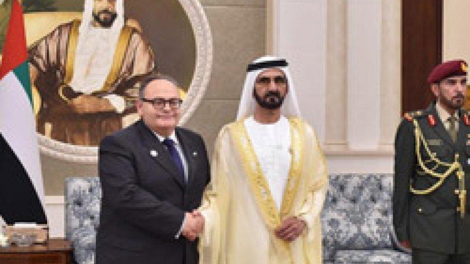 Mauro Maiani nuovo ambasciatore di San Marino negli Emirati Arabi Uniti