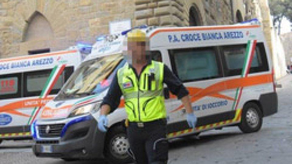 I soccorsi ad Arezzo