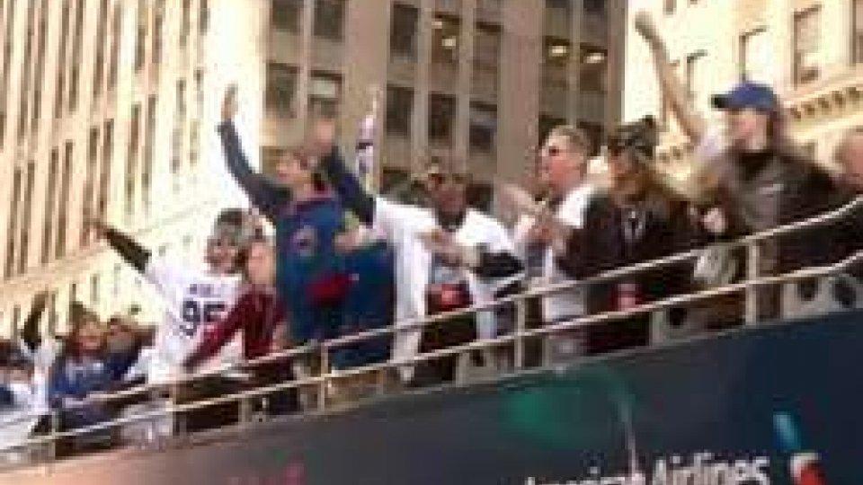 La festa dei CubsBaseball: in 5 milioni per la festa dei Cubs