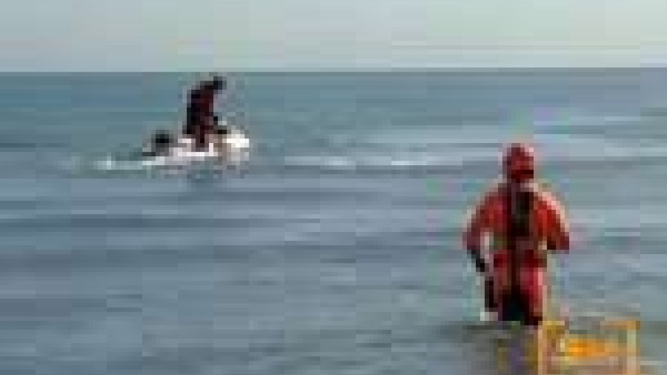 Rimini: disperso 33enne in mare