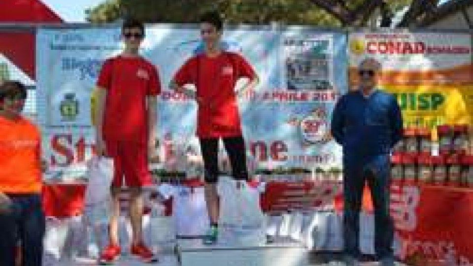 Atletica leggera: Gpa San Marino, 2° società classificata alla 39esima edizione del Vivicittà di Riccione