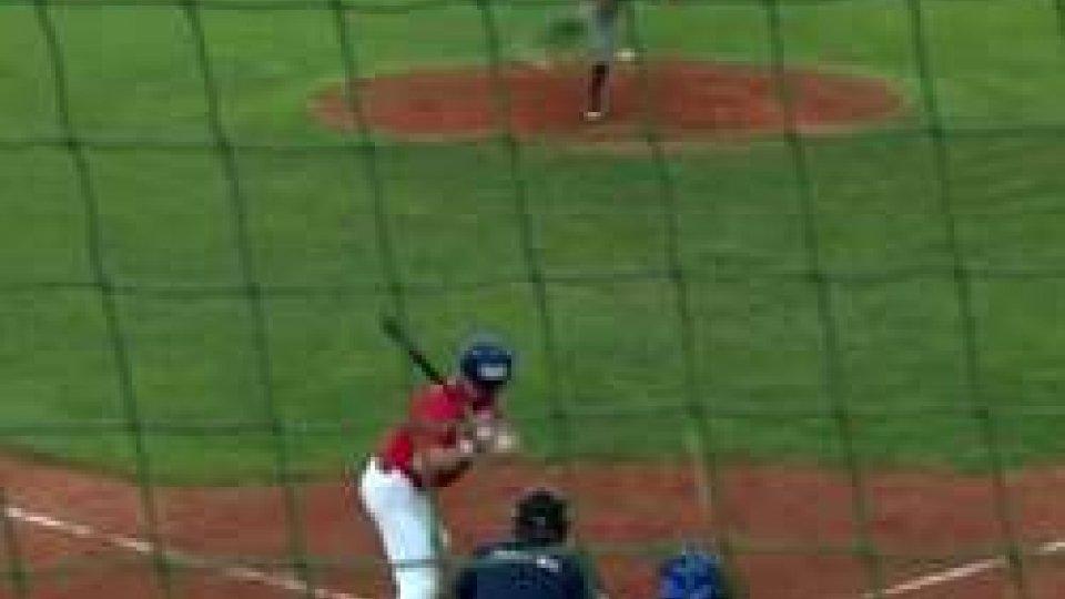 Baseball: la T&A San Marino batte in rimonta ParmaBaseball: la T&A San Marino batte in rimonta Parma