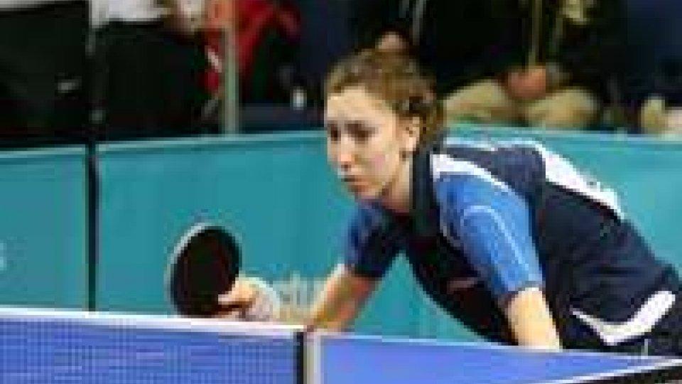 Tennis Tavolo: Letizia Giardi già a medaglia