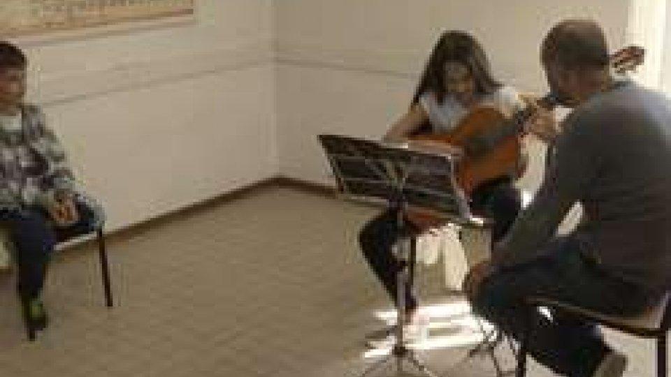 Uno dei corsi nell'Istituto Musicale Sammarinese