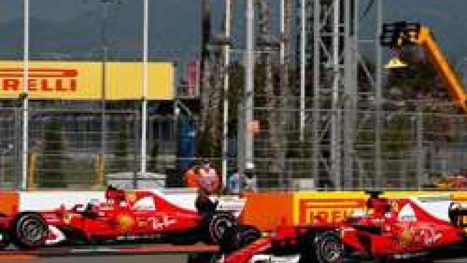 F1 Gp Russia: prima fila tutta Ferrari