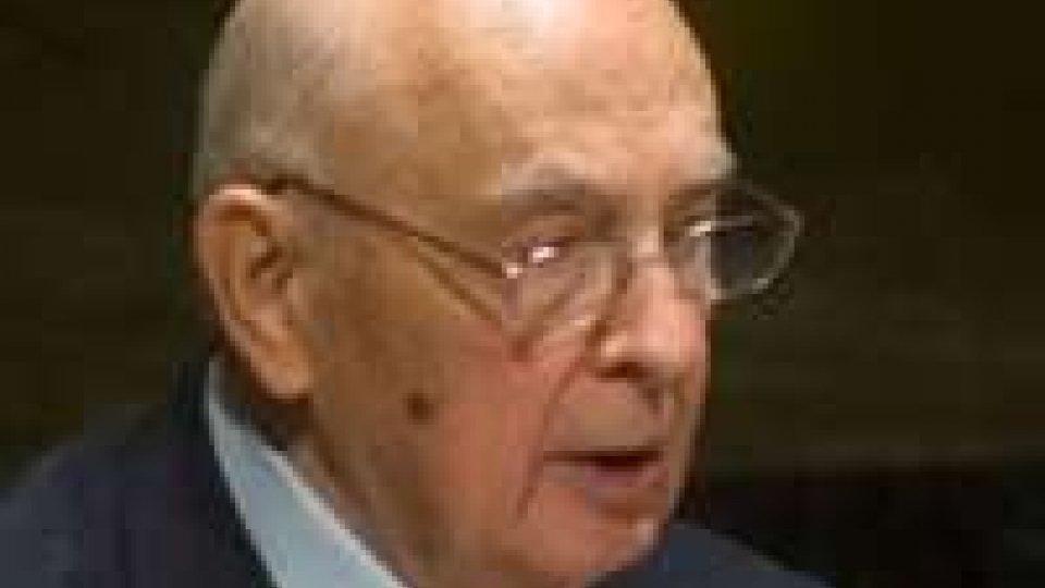 Napolitano: auguri da tutto il mondo per il secondo mandato