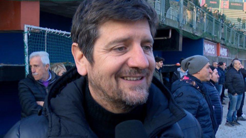 """Fabio De LuigiFabio De Luigi: """"Zangheri come un padre, ti sgridava ma a fine partita erano baci e abbracci"""""""