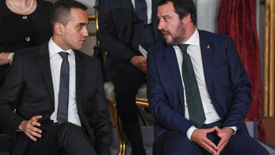 Salvini e Di Maio. Foto ansa