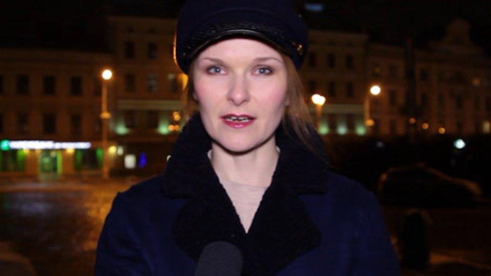 Viktoriia PolishchukUcraina: al via la campagna per le elezioni presidenziali di marzo