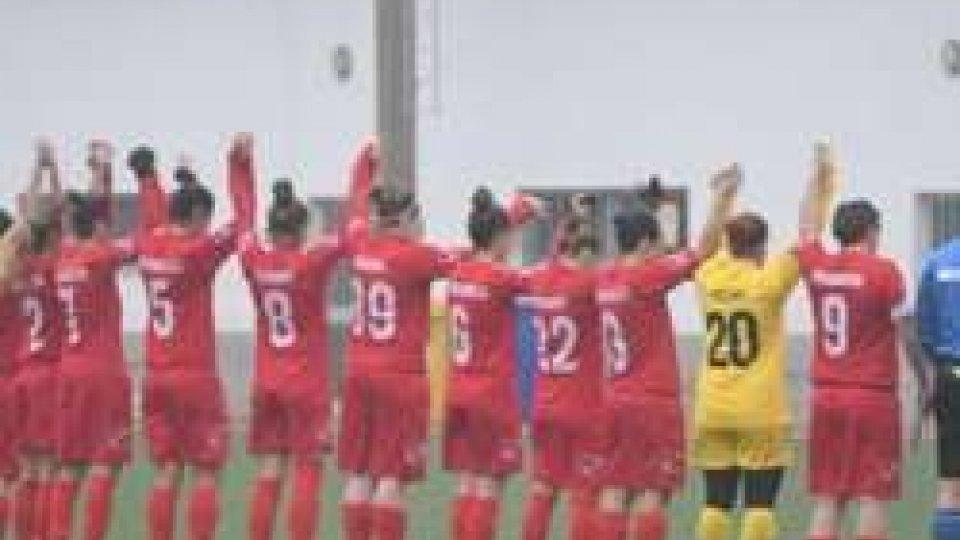 Campionato Femminile Serie B: Goridge - Federazione Sammarinese 1-2
