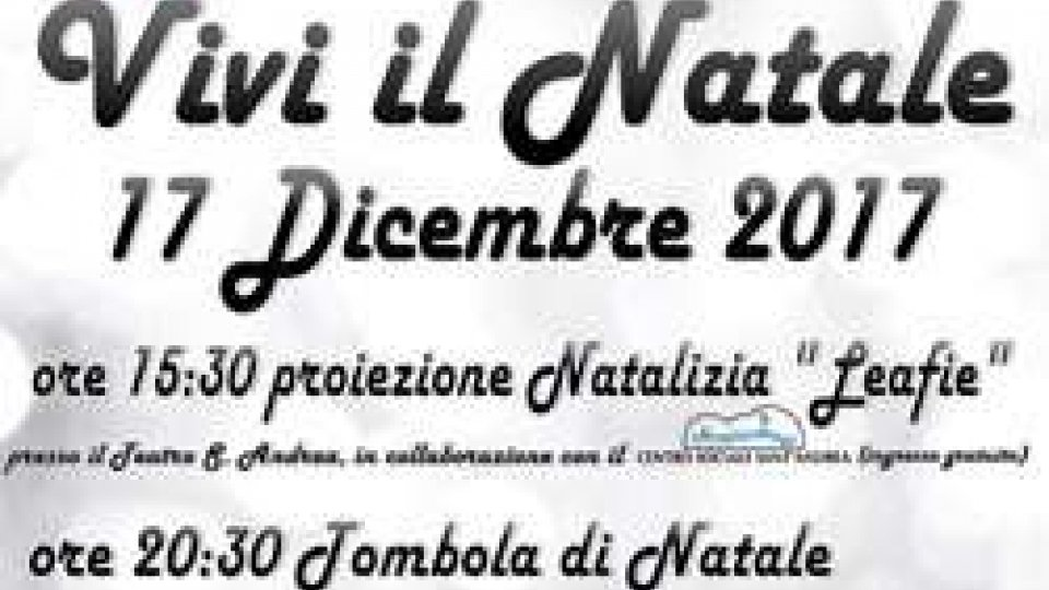Serravalle: domenica prossima Vivi il Natale 2017
