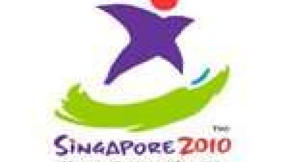 La delegazione dei Giochi Olimpici della Gioventù è arrivata a Singapore