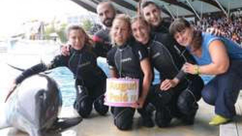 Delfino PeléBuon compleanno, PELE' (la delfina di Riccione)