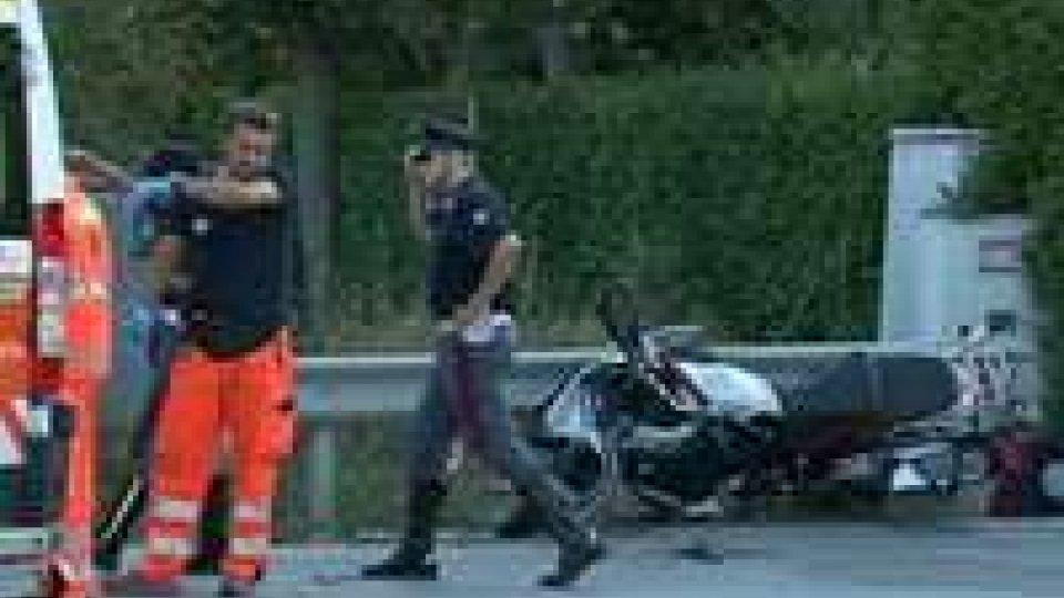 Incidente sulla superstrada: coinvolto motociclista sammarinese