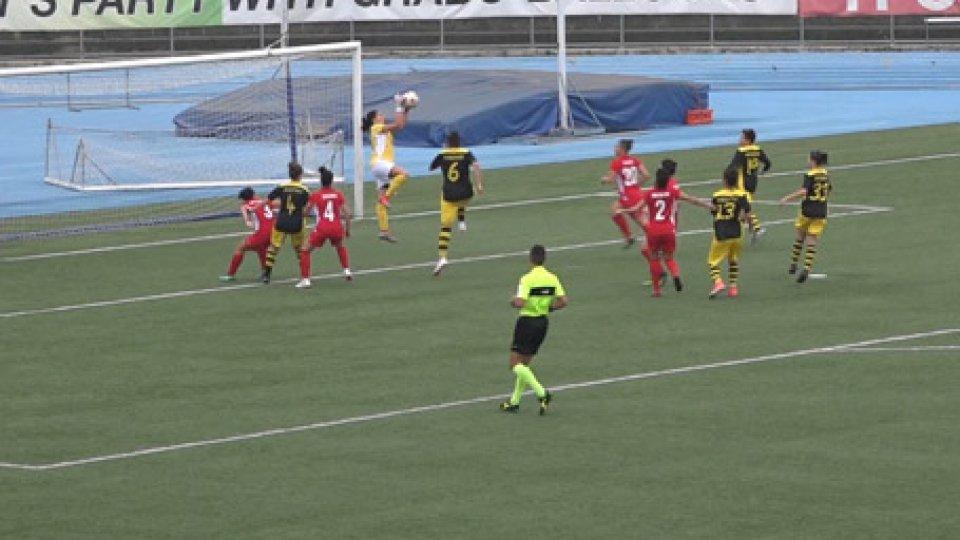 Riccione-San Marino Academy 0-4Femminile, serie C: netta vittoria della San Marino Academy sul Riccione
