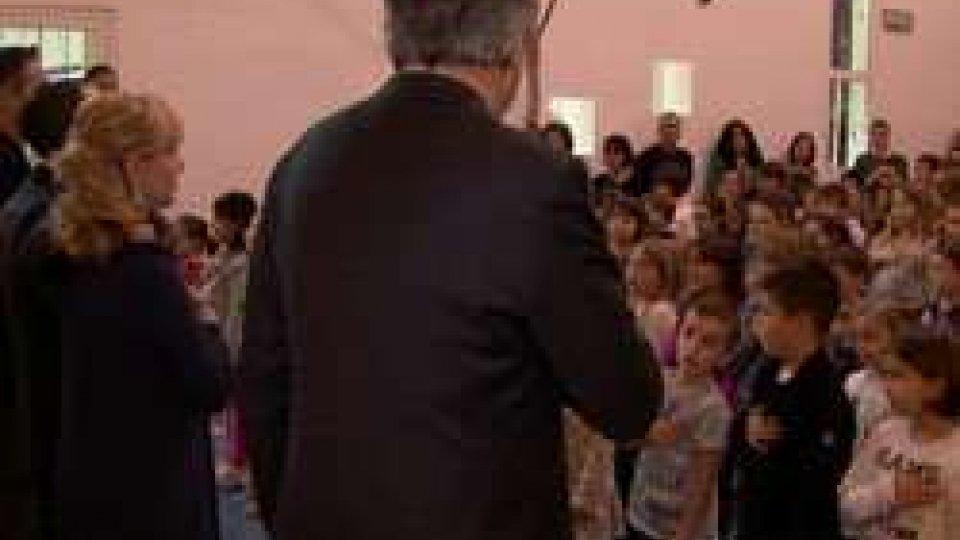 proseguono le visite della Reggenza nelle scuoleNatale: proseguono le visite della Reggenza nelle scuole