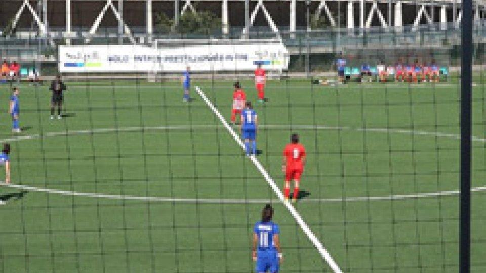 Calcio femminileFemminile: goleada della San Marino Academy in Coppa Italia. Olimpia Forlì battuto 7-0