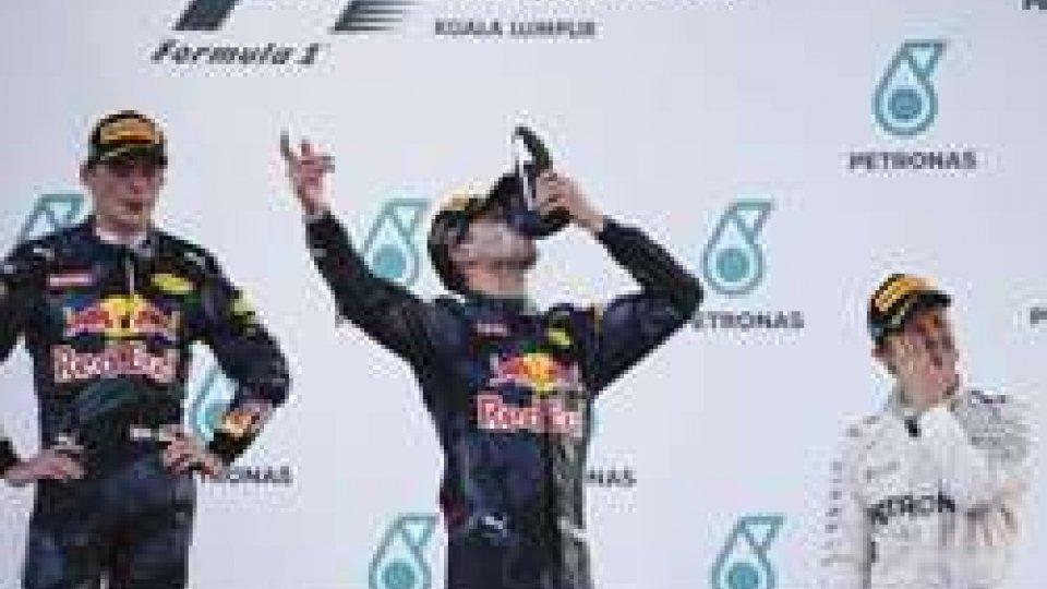F1: a Sepang trionfa Ricciardo