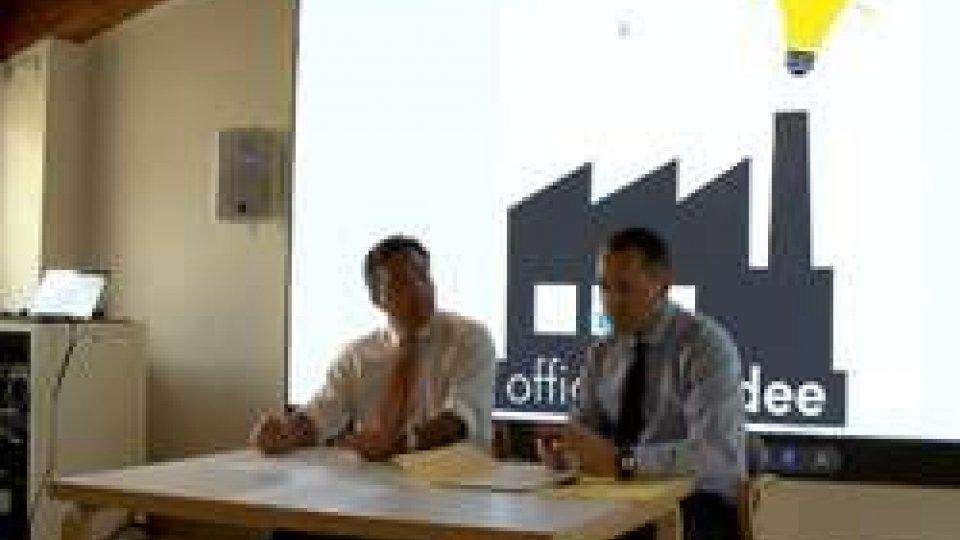 Francesco Mussoni e Teodoro LonferniniNasce Officina di idee. A fondarla, sono due esponenti di primo piano della Dc