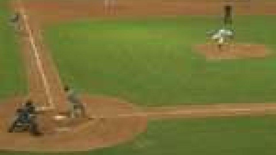 Baseball: sconfitta per la T&A