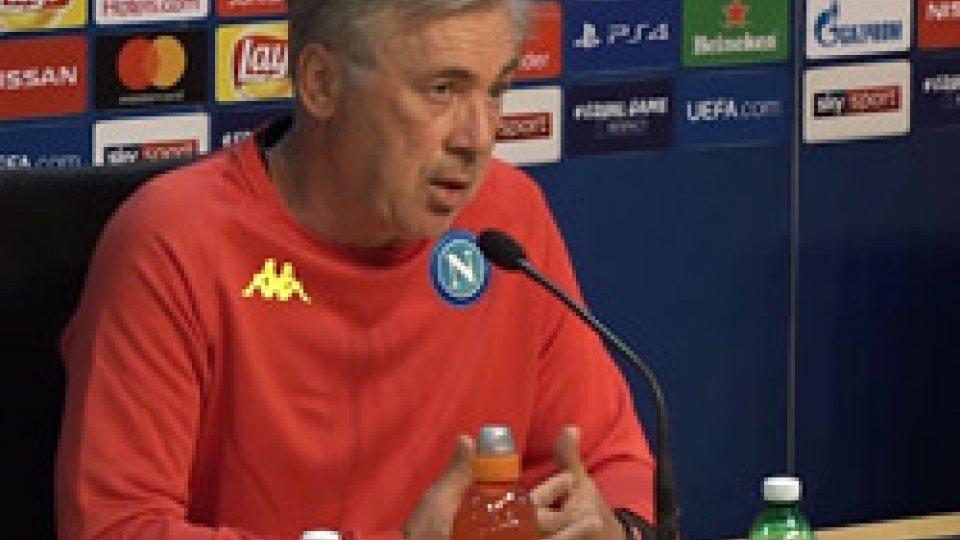 Carlo AncelottiChampions, l'Inter va dal PSV e il Napoli riceve il Liverpool