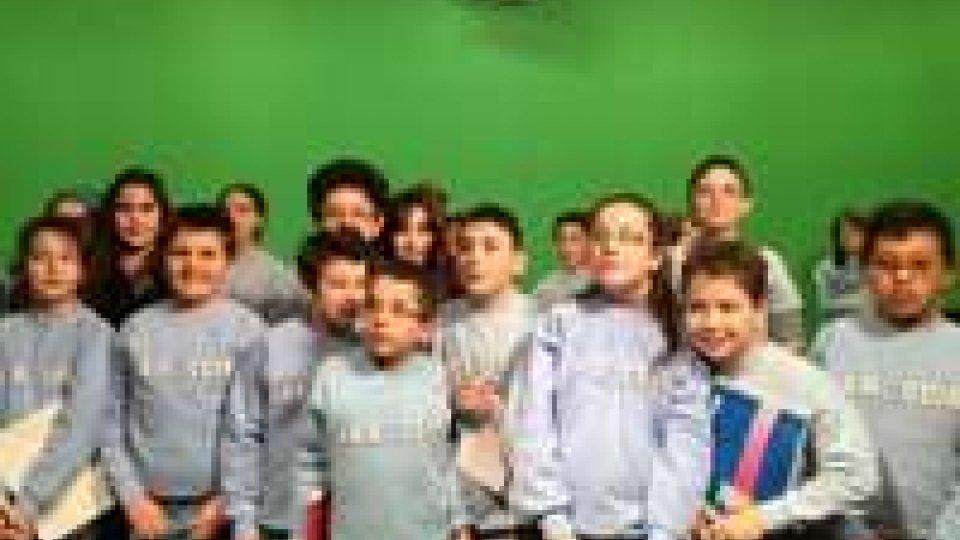 Elementari in visita a RTV
