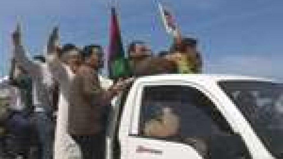 In Libia prosegue l'avanzata delle forze governative