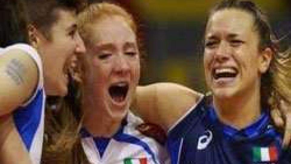Pallavolo, Mondiali femminili Under18: oro storico per l'Italia