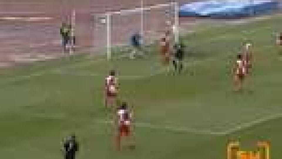 San Marino - Ieri al Romeo Neri, il Rimini ha battuto nel derby il San Marino alla sesta sconfitta consecutiva fuori casa