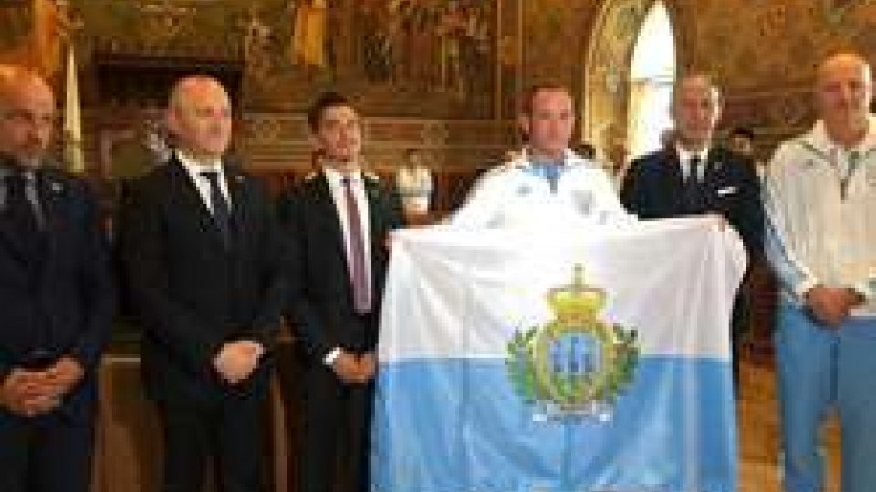 Gianmarco Berti portabandiera di San Marino