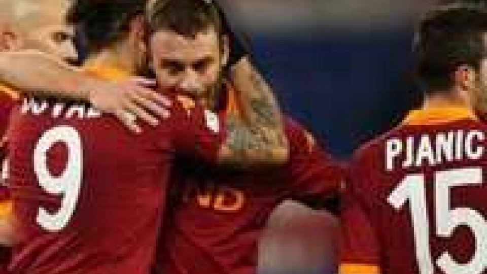 Coppa Italia: Roma batte Atalanta 3-0