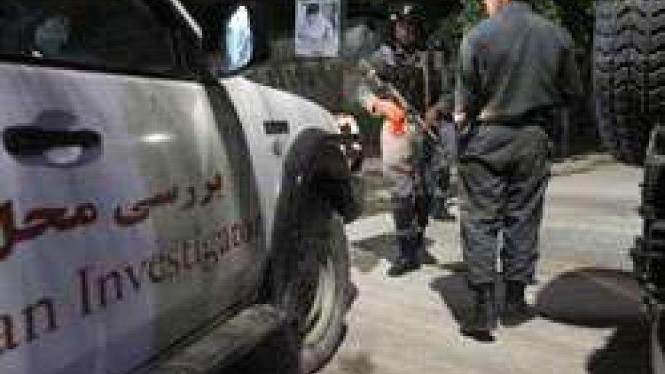 Un italiano tra vittime attacco ieri Kabul